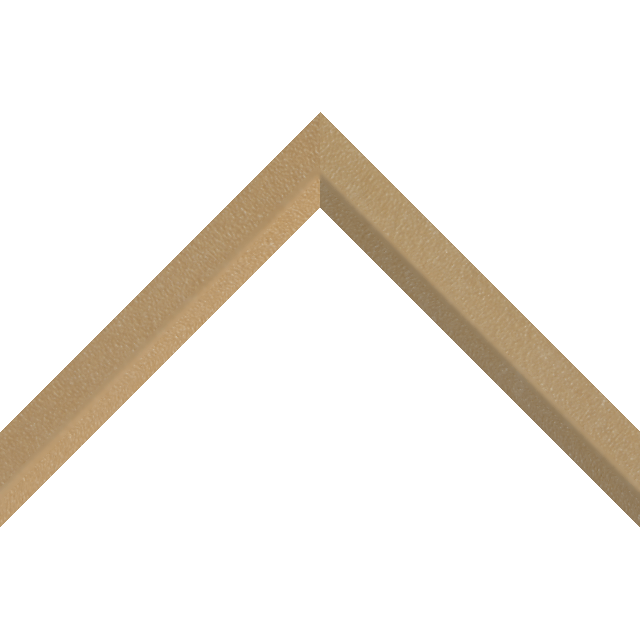 1″ Thatch Suede Front Bevel Liner Picture Frame Moulding
