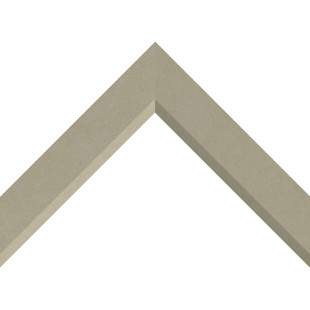 1-1/2″ Ultra Taupe Suede Front Bevel Liner Picture Frame Moulding