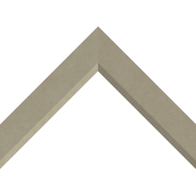 1-1/2″ Fawn Suede Front Bevel Liner Picture Frame Moulding