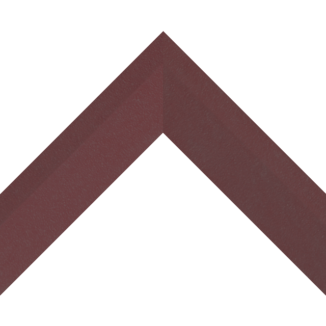 2″ Claret Suede Back Bevel Wrap