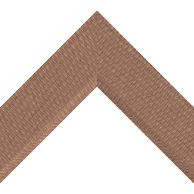 2-1/2″ Pompein Red Linen Front Bevel Wrap