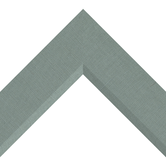 2-1/2″ Frosty Spruce Linen Front Bevel Wrap