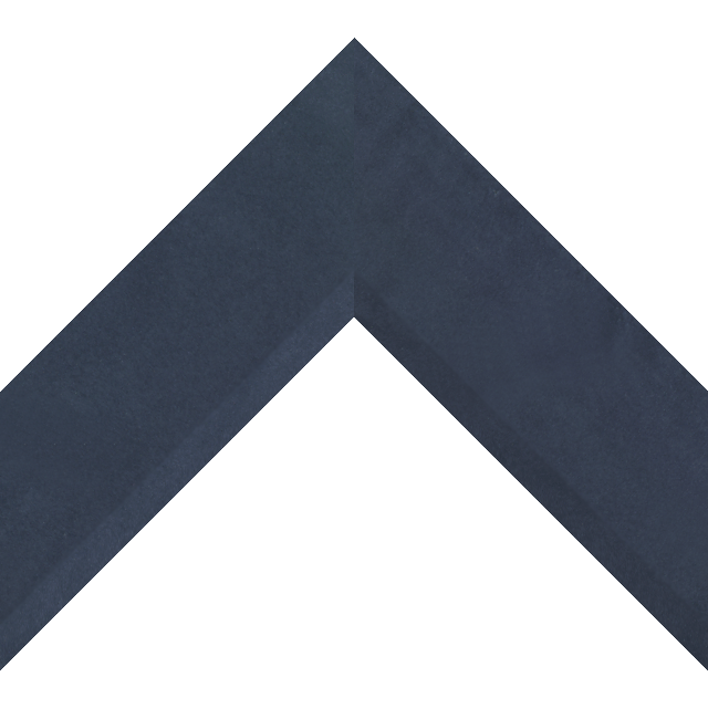 2-1/2″ Navy Suede Front Bevel Wrap
