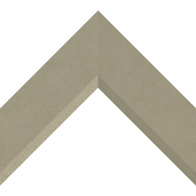 2-1/2″ Ultra Taupe Suede Front Bevel Liner Picture Frame Moulding