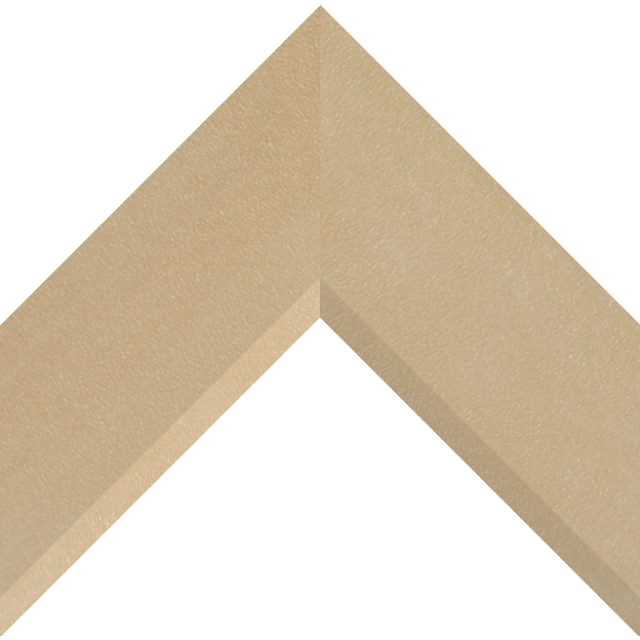 3″ Thatch Suede Front Bevel Liner Picture Frame Moulding
