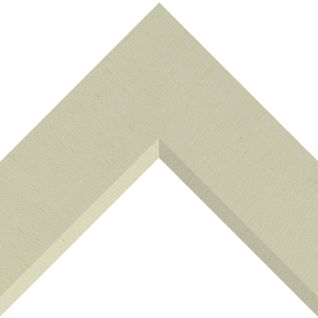 3″ Ivory Silk Front Bevel Wrap