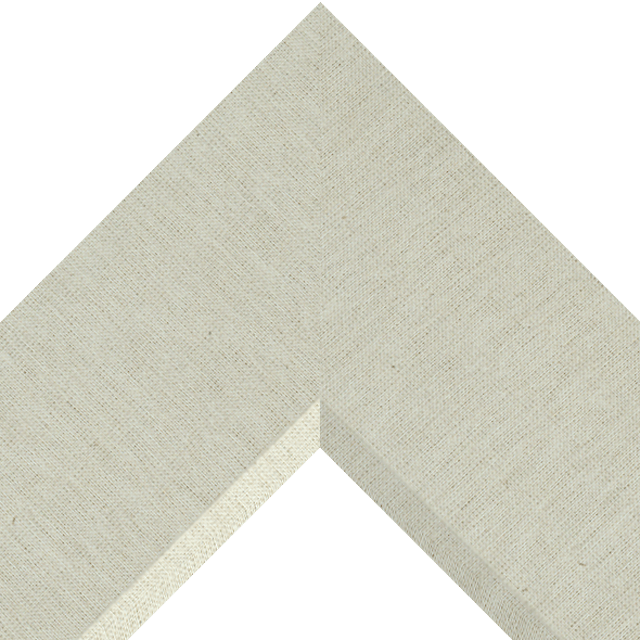 4″ Brussels Natural Linen Front Bevel Wrap