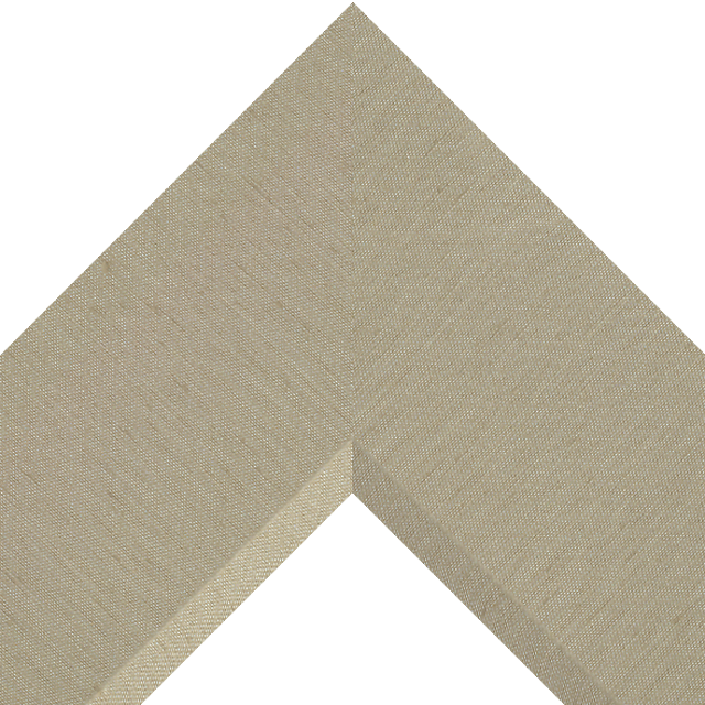4″ Khaki Silk Front Bevel Wrap
