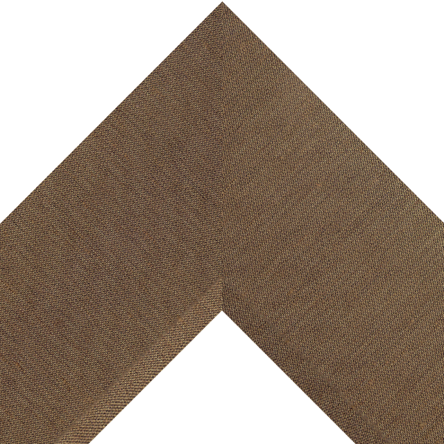4″ Chocolate Silk Front Bevel Wrap