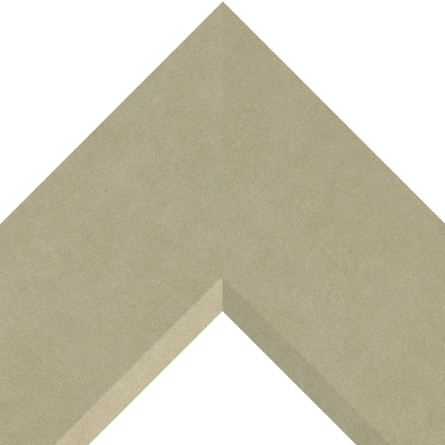 4″ Ultra Taupe Suede Front Bevel Wrap