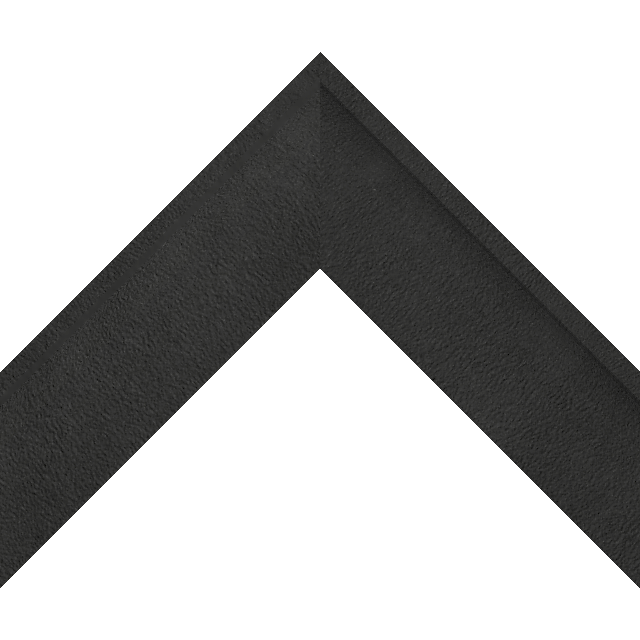 2-1/4″ Black Suede Shallow Scoop Wrap