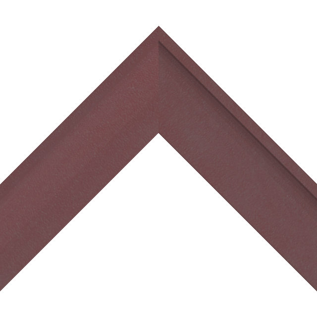 2-1/4″ Claret Suede Shallow Scoop Wrap