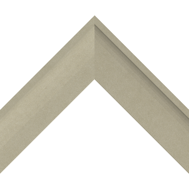 2-1/4″ Ultra Taupe Suede Shallow Scoop Wrap