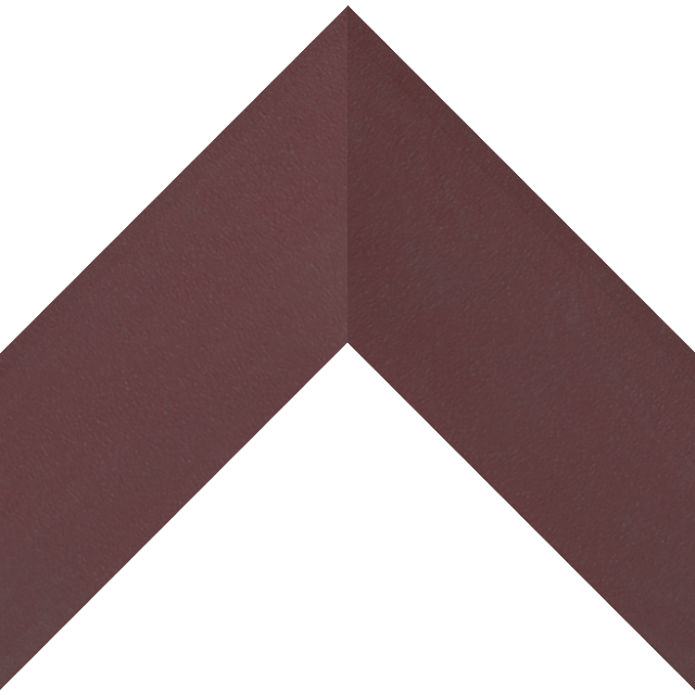 3″ Claret Suede Shallow Scoop Wrap