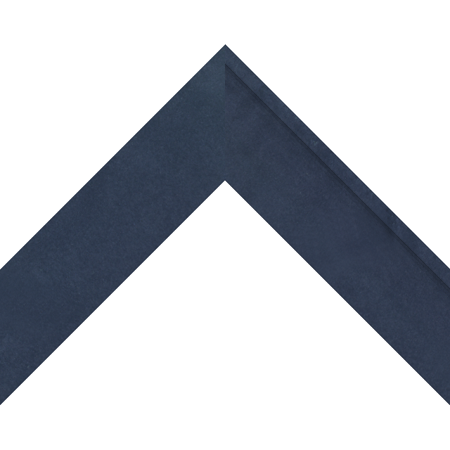 2″ Navy Suede Deep Scoop Wrap