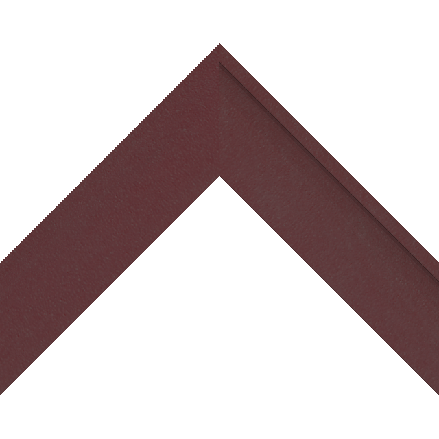 2″ Claret Suede Deep Scoop Wrap