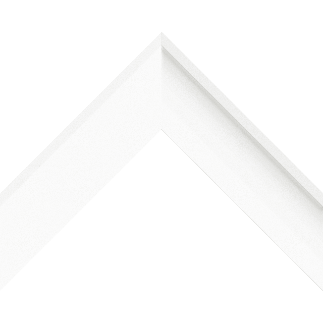 2″ White Silk Deep Scoop Wrap