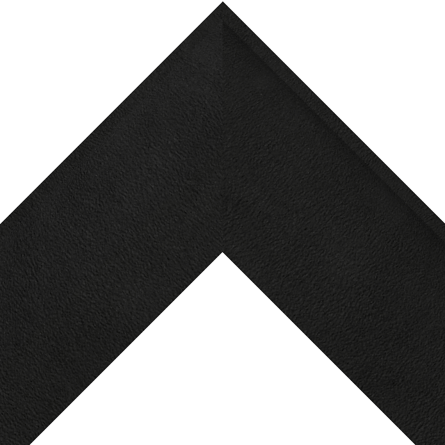 3-1/2″ Black Suede Scoop Wrap